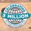 Celebrating 3 million active geocaches